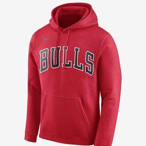 NIKE NBA CHICAGO BULLS WORDMARK HOODIE